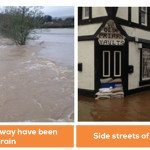 It's not over yet…..Storm Frank hits!