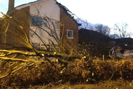 Storm Henry brings 90mph Gales!