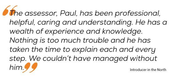 Testimonial of the Week Quote