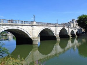 Richmond bridge on the Thames