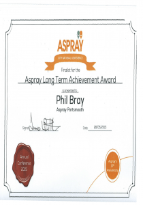Aspray long Term Achievement Award