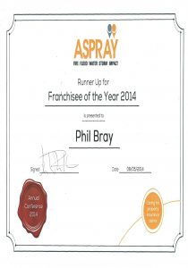 Aspray Franchise of the Year Award 2014