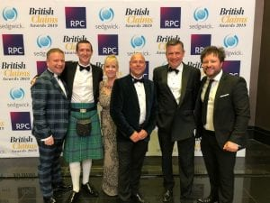 British Claims Awards Evening