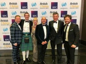 British Claims Awards Evening