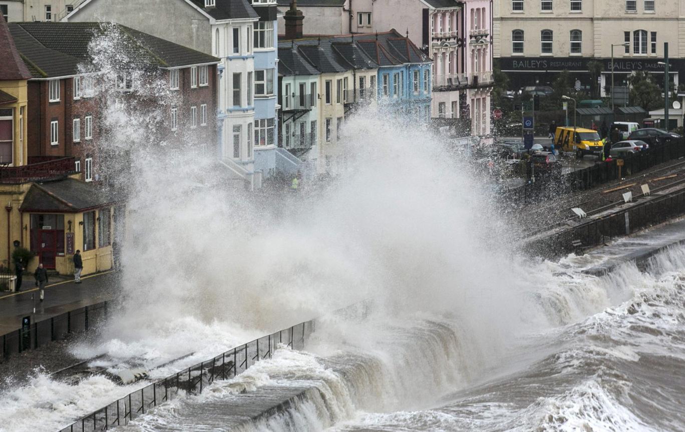 Winter`s Worst Storm Strom Doris