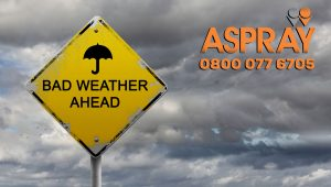Bad Weather - Yellow Weather Warnings Issued