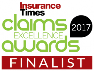 Insurance Times-Claims Awards 2017-FINALIST