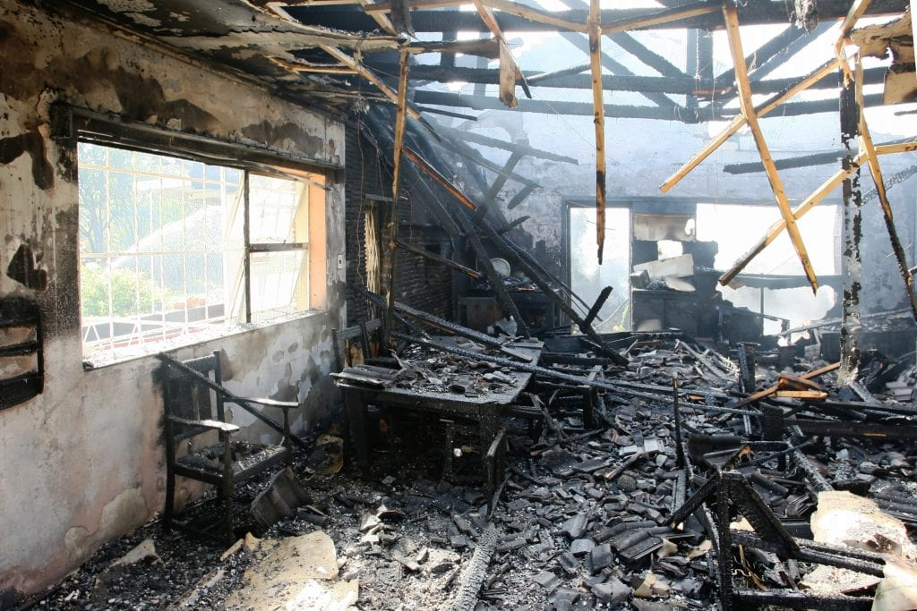 Loss Assessors - damage after a fire