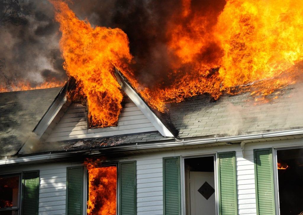 Home Insurance Claim - Fire Damage