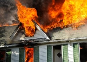 Home Insurance Claim - Fire Damage