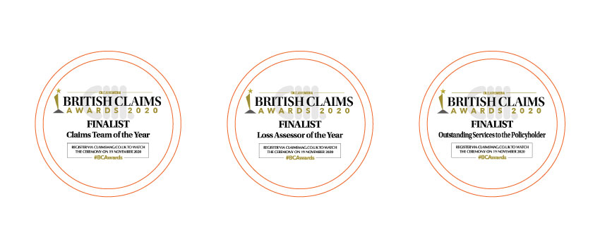 British Claims Awards Finalists