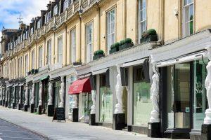 Cheltenham, Row Of Exclusive Shops