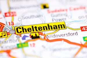 Cheltenham.,United,Kingdom,On,A,Map