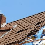 Severe Gales and Wind can cause damage to roofs