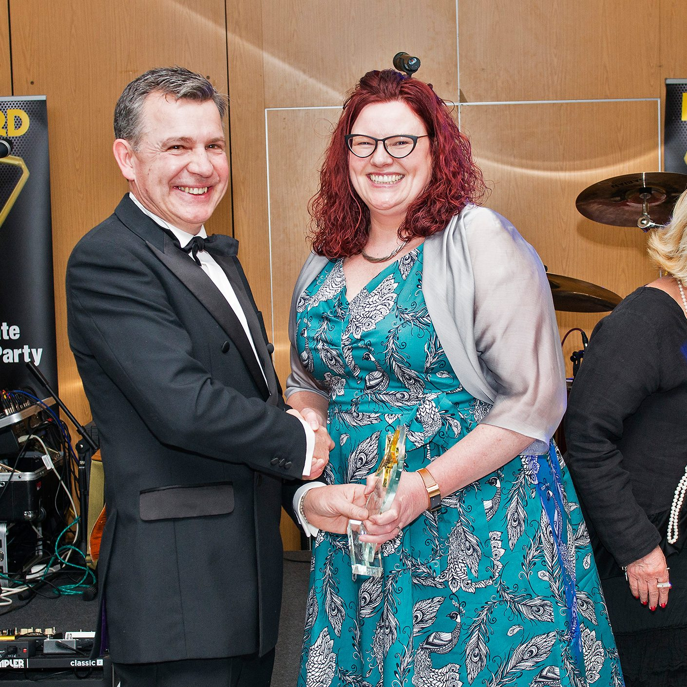 Sara Holmes, Award Winner