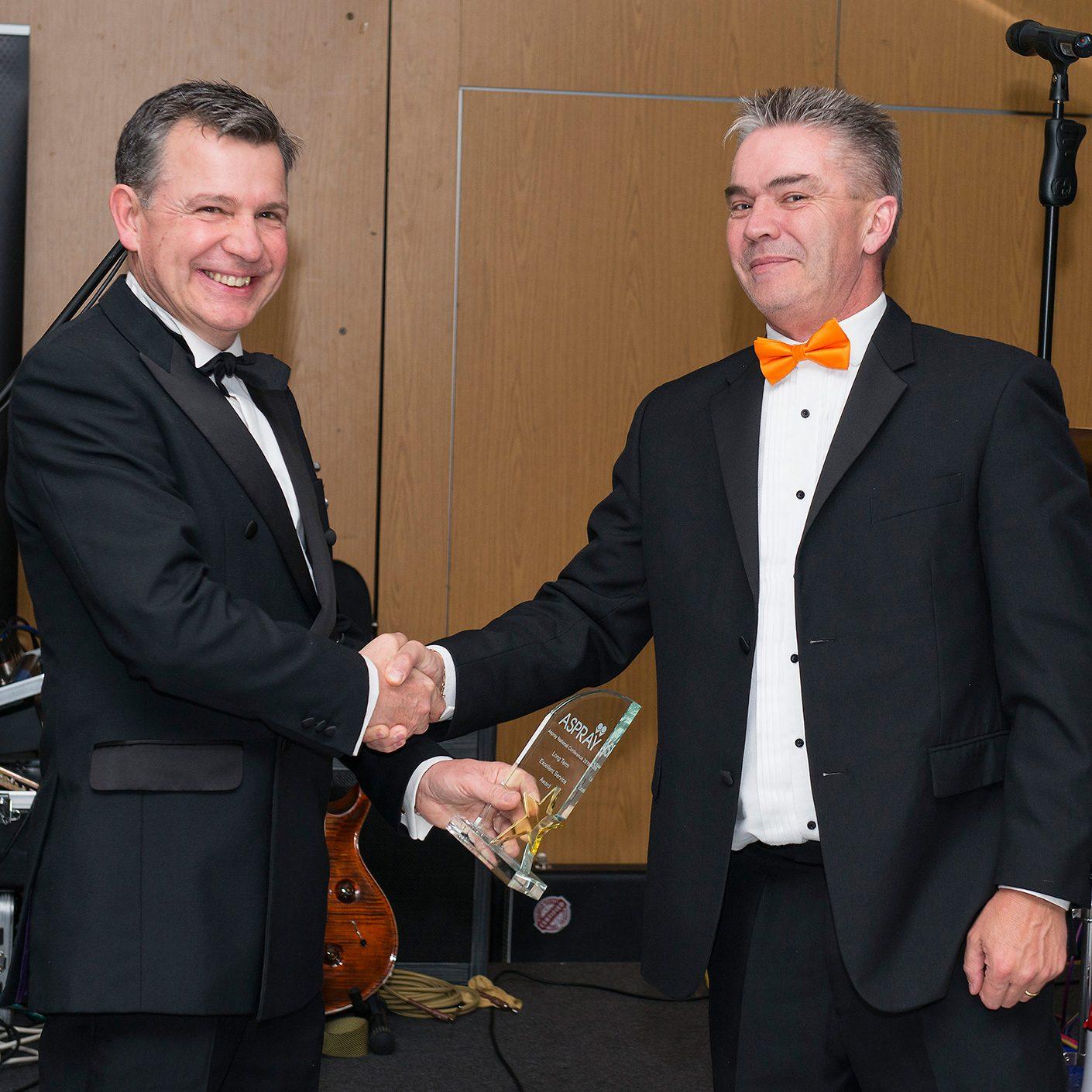 Clive Hawkesley, Award Winner